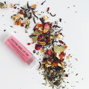 Rose lip balm from Figs and Feathers Farm
