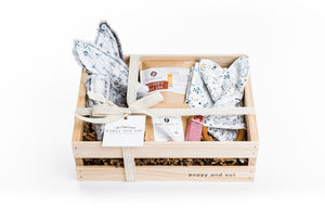 Gift box for new baby and new mom