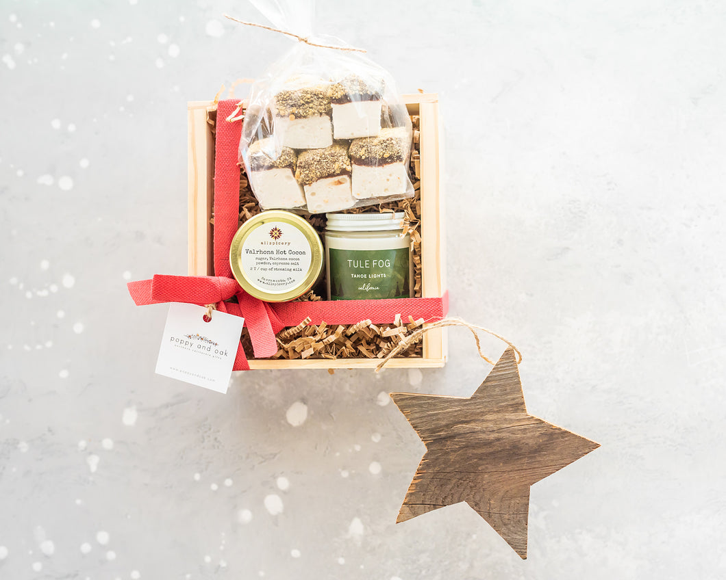 Tahoe Nights Winter Gift Box, Christmas Gift