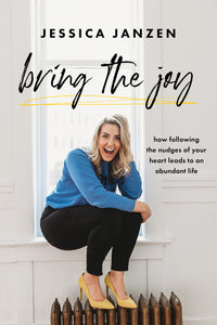 BRING THE JOY || BOOK SIGNED COPY