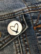 HEART || LOVE FOR LEWISTON PIN
