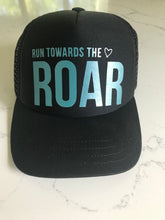 ROAR || KIDS BLACK TRUCKER HAT