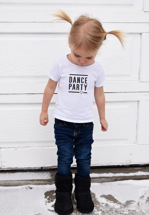 DANCE PARTY || KIDS TSHIRT