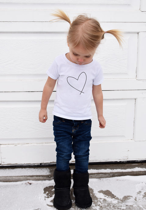 HEART || KIDS TSHIRT