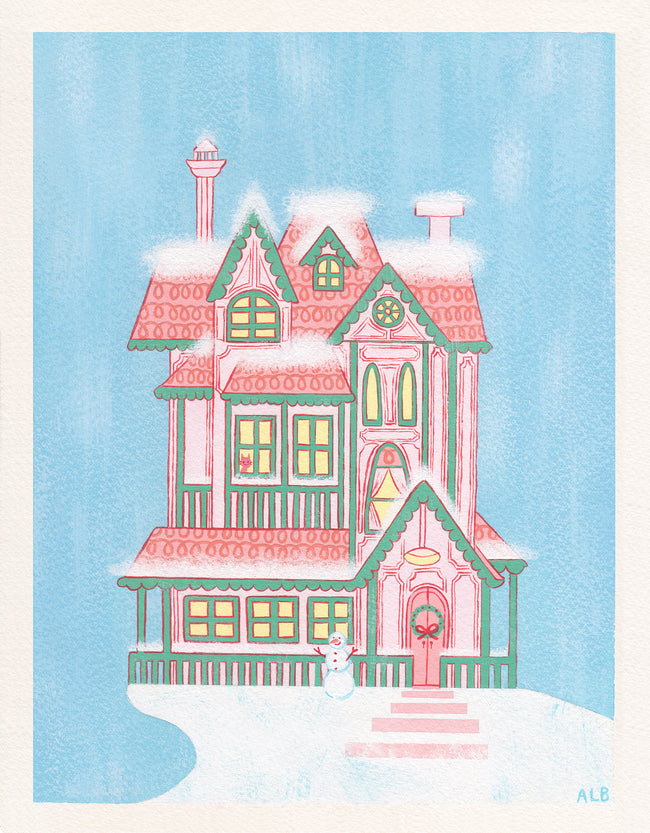 Original Painting: Home For the Holidays