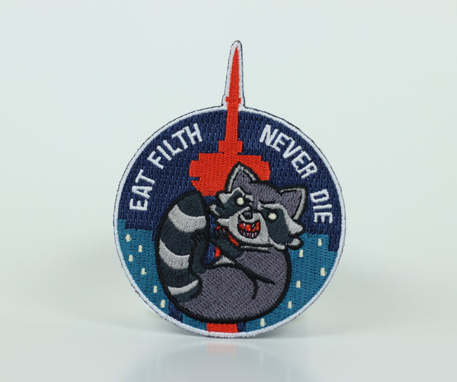 Trash Panda Iron-On Patch