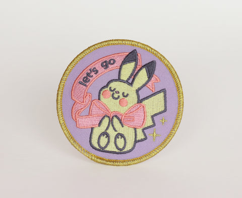 Goshdarn Best Macaron Iron-On Patch