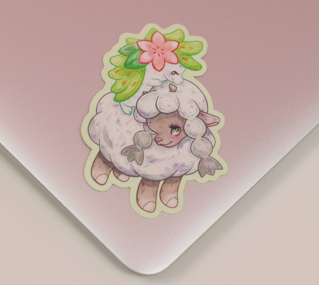 Little Golden Pokémon Wooloo Sticker