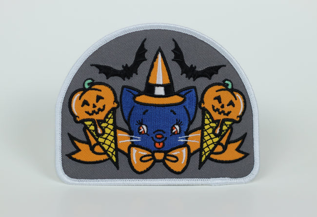 Pumpkin Spice Malt Shoppe Iron-On Patch