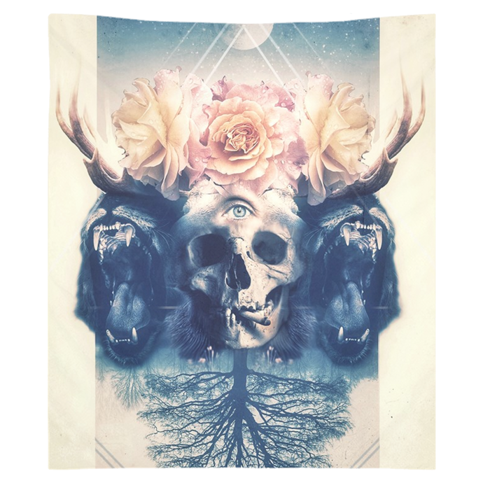 Beautiful Beasts Tapestry