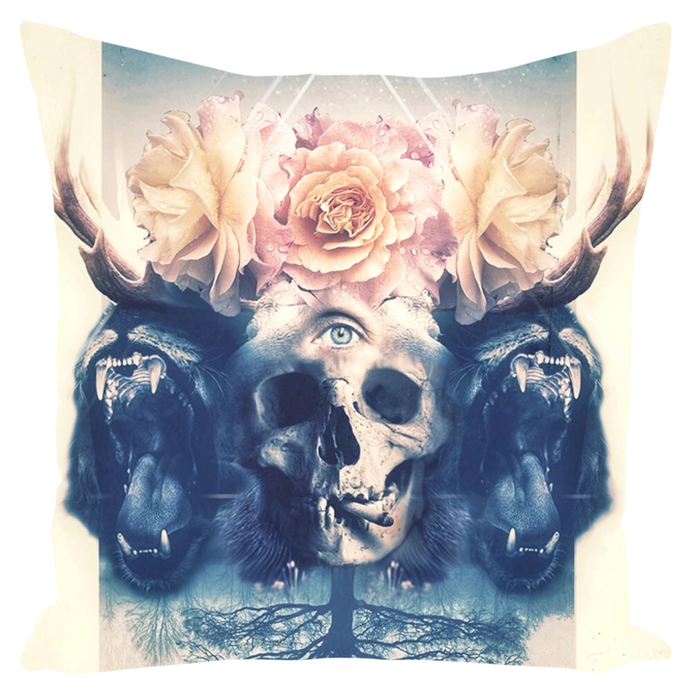 Beautiful Beasts Throw Pillows
