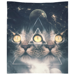Third Eye Kitten Tapestries