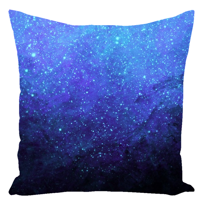 Cerulean Void [Throw Pillow]