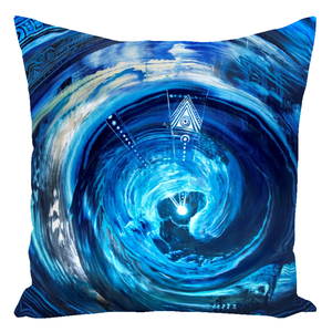 Everything Flows [Throw Pillow]