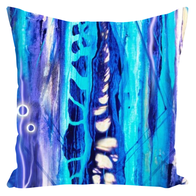 The Psychic River [Throw Pillow]