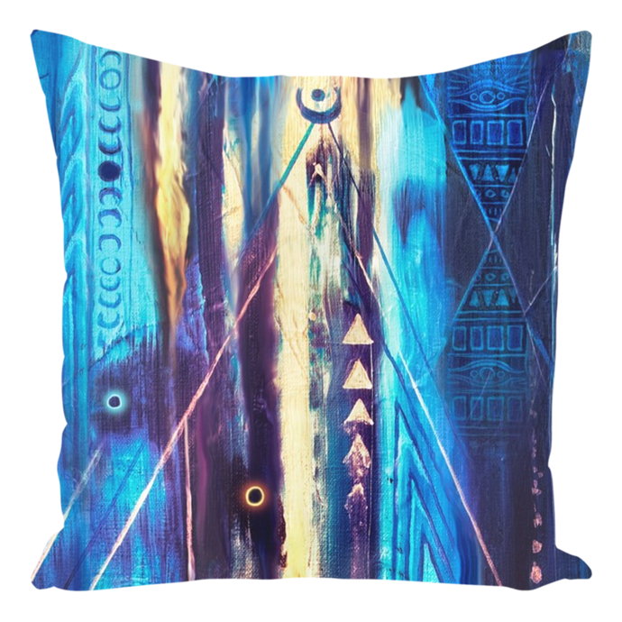 Obelisk at Dusk [Throw Pillow]