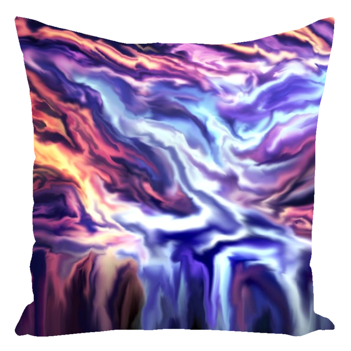 The Big Melt [Throw Pillow]