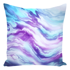 Candy Flower Abstract [Throw Pillow]