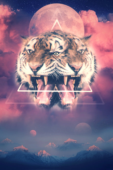 Third Eye Tiger: Canvas