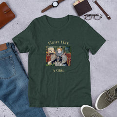 Fight like a girl tshirt