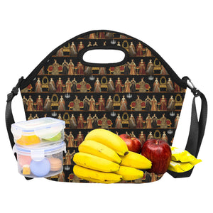 Six Wives Neoprene Lunch Bag/Large (Model 1669)