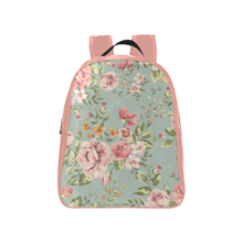 Vintage floral backpack - Medium size