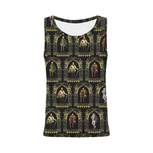 My Tudor Boyfriend Tank Top All Over Print Tank Top for Women (Model T43)