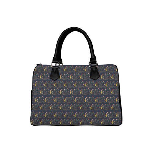 Elizabeth I Signature Boston Handbag