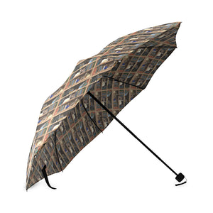 Cats+Books Foldable Umbrella