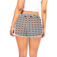 katherine parr shorts Women's All Over Print Relaxed Shorts (Model L19)