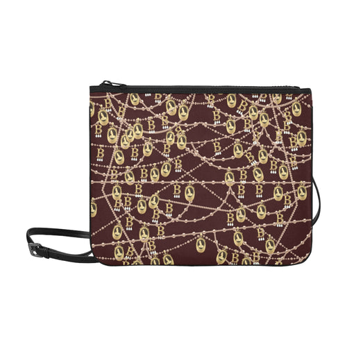 Anne Boleyn Pouch Slim Clutch Bag