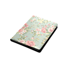 Blue vintage floral English Garden B5 custom notebook/journal