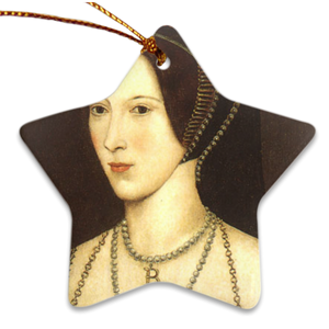Anne Boleyn Porcelain Ornaments