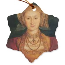 Anne of Cleves Porcelain Ornament