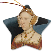 Jane Seymour Porcelain Ornament
