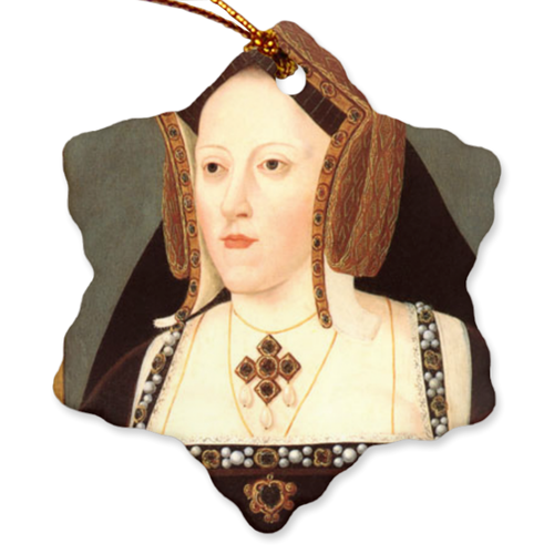 Katherine of Aragaon Porcelain Ornaments