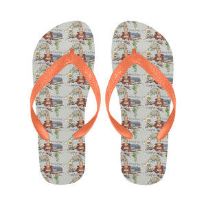 Anne of Cleves Flip Flops for Men/Women