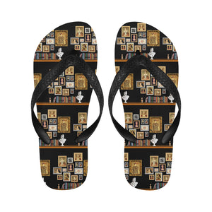 Six Wives Portrait Flip Flops for Men/Women