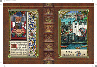 The 2019 Tudor Planner Preorder - will ship THANKSGIVING WEEK in the US