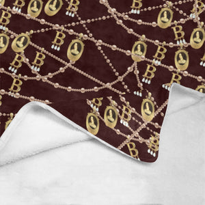 "Anne Boleyn B Necklace Ultra-Soft Micro Fleece Blanket 40""x50"""
