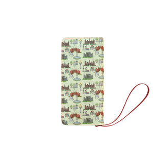 Anne Boleyn's Homes and a Summer English Garden Clutch Wallet