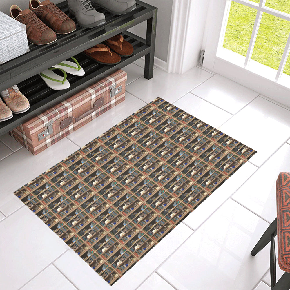 Cats Plus Books Azalea Doormat 30