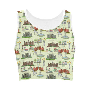 Anne Boleyn's Homes and a Summer English Garden Crop Top