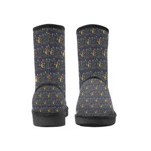 Elizabeth I Signature High Top Snow Boots Unisex Snow Boots