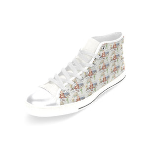 Anne of Cleves Women's Classic High Top Canvas Shoes