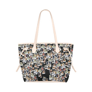 Elizabeth I Portrait Clover Canvas Tote Bag