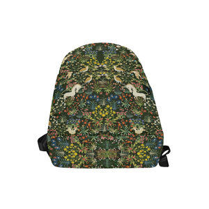 Medieval Unicorn Tapestry Backpack