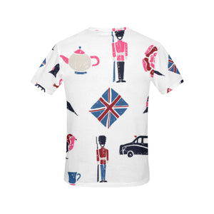 London Emblams Shirt All Over Print T-Shirt for Women (USA Size) (Model T40)
