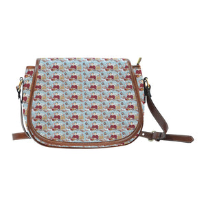 Katherine Parr Saddle Bag/Large