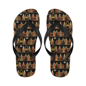 Six Wives Dinner Party Flip Flops for Men/Women